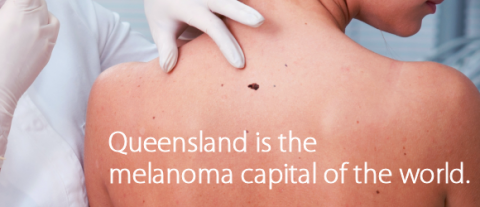 Queensland is the melanoma capital of the world